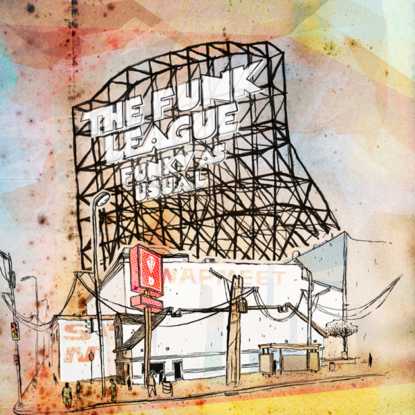 The Funk League – Funky As Usual (LP)