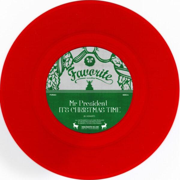 Mr President – It's Christmas Time (single)