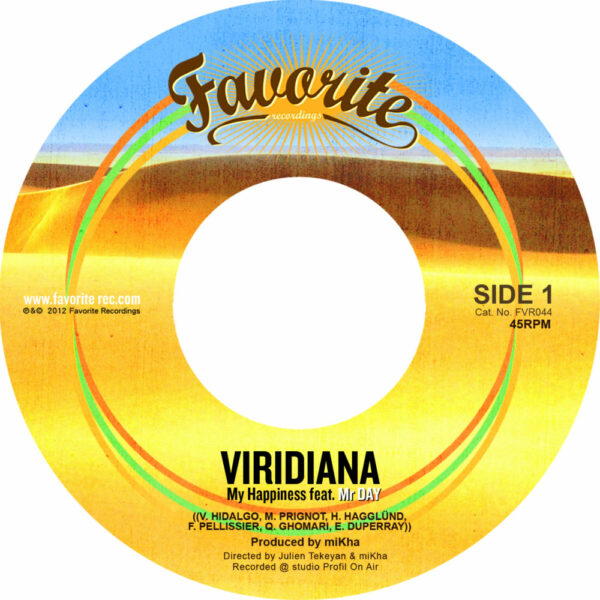 Viridiana – My Happiness feat. Mr Day (7″)