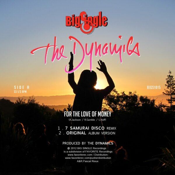 The Dynamics – Money Remixes EP (EP)