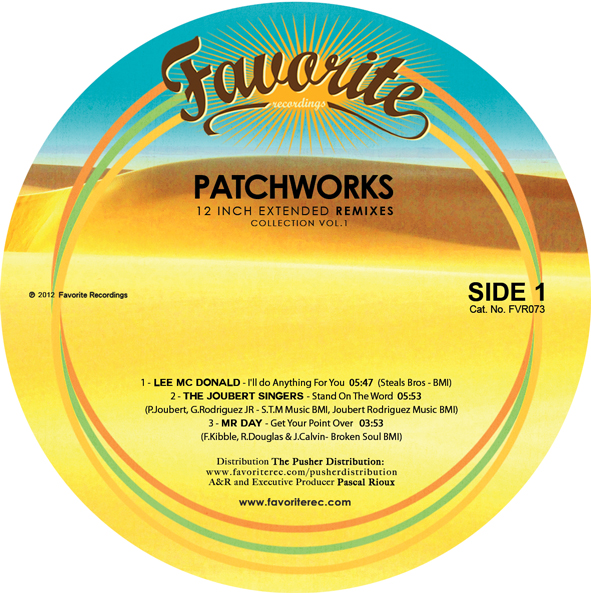 Patchworks – 12inch Remixes EP (EP)