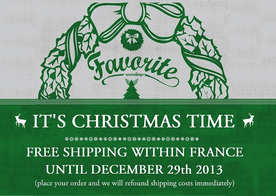 Christmas Free Shipping in France !