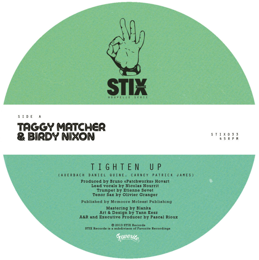 Taggy Matcher – Tighten Up / Lonely Boy (7″)