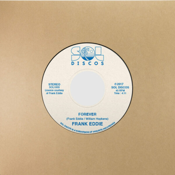 Frank Eddie – Forever (7″, RE)