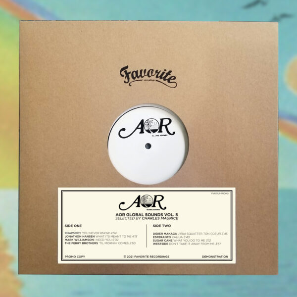 AOR Global Sounds Vol. 5 Advanced Promo Copy